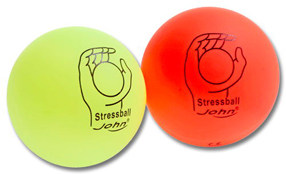 Anti-Stressbälle-Set 2 farbig